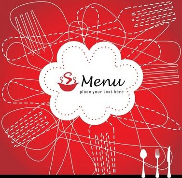 menu cover menu cover vector