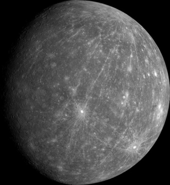 mercury planet surface