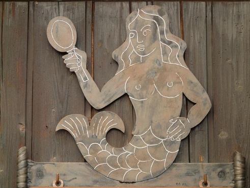 mermaid mirror water sprite