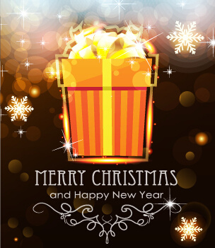 Christmas new year greeting card 2017 free vector download 20712 merry christmas and new year greeting cards vectors m4hsunfo