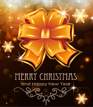 Merry christmas new year greeting card sample free vector download merry christmas and new year greeting cards vectors m4hsunfo
