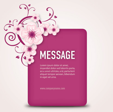 message box vector graphic