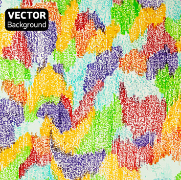 messy watercolor art background vector