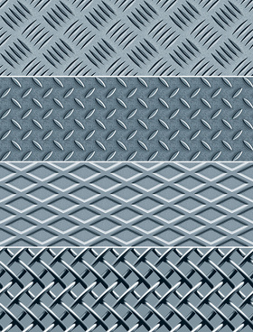 metal board and metal fence vector