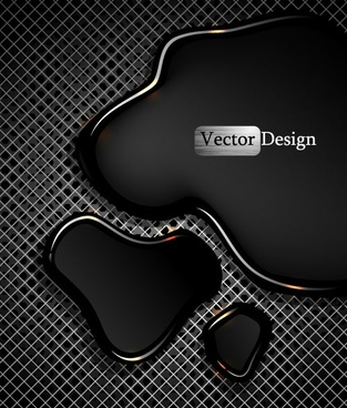 metal grid background 03 vector