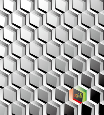 metal mesh elements vector background