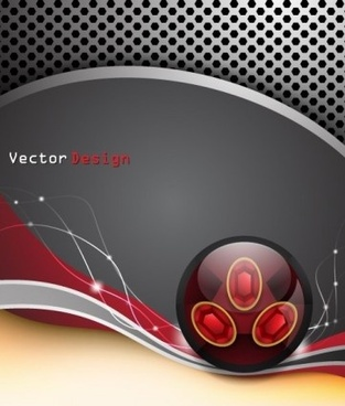 metal mesh with abstract backgrounds vector set
