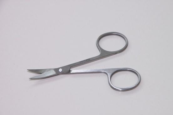 metal nail scissor