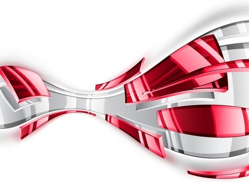 technology background shiny transparent red grey 3d decor