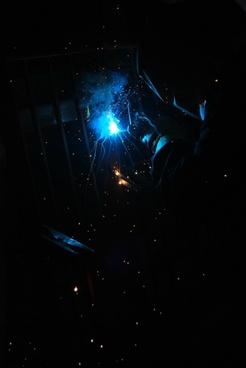 metal welding light