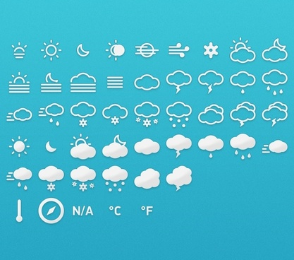 Meteocons – Icons + Fonts