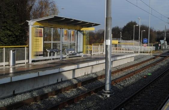 metro tram station