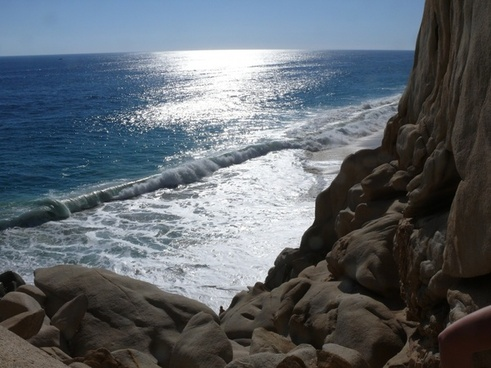 mexico cabo san lucas ocean