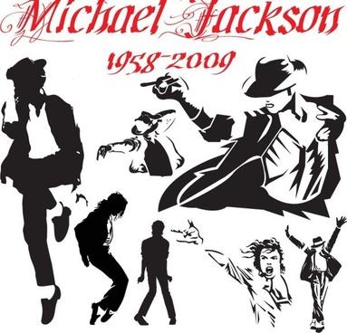 michael jackson classic motion vector