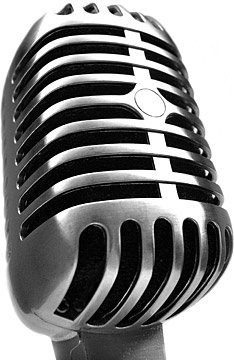 microphone closeup picture