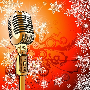 microphone mike texture vector line art