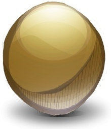 Mics Pointless Gold Sphere