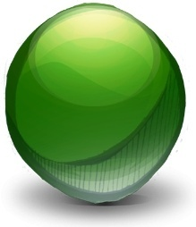 Mics Pointless Green Sphere