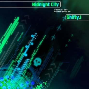 Midnight City Brush Pack