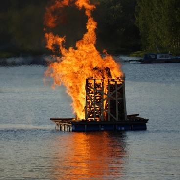 midsummer bonfire finland midsummer festival