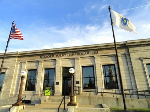 milford massachusetts police station