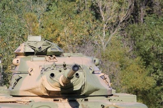 military sherman tank