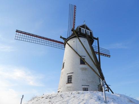 mill damme wind mill