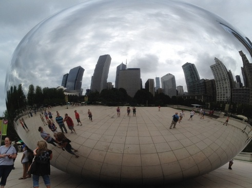 millennium park chicago peanut