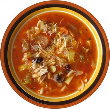 minestrone soup vegetable soup