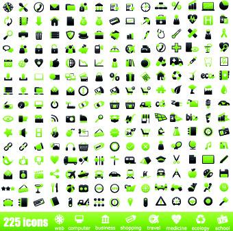 mini icon for web vector