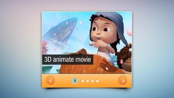 Mini Slider Interface