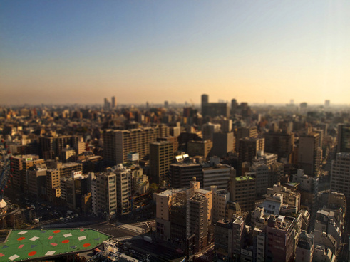 miniature tokyo city