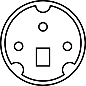 Minidin Connector Pinout Free Vector Download 24 Free Vector For