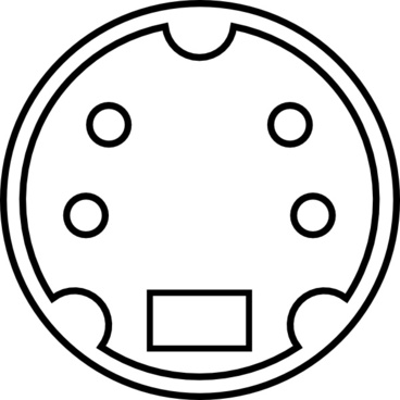 minidin connector pinout free vector download  24 free