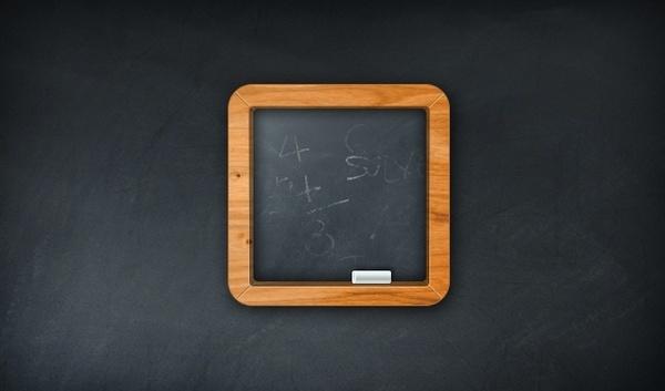 Minimal Chalkboard