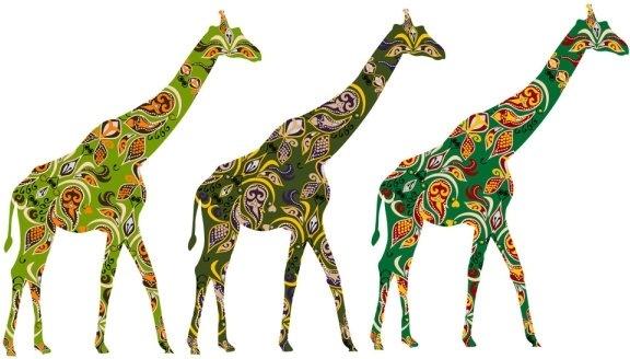 minority exquisite decorative painting 04 vector