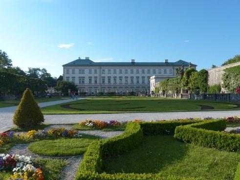 mirabell palace garden park