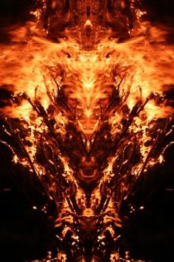 mirroring fire mystical