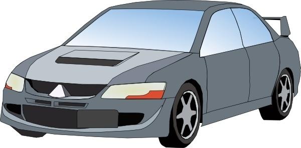 Mitsubishi Evo clip art