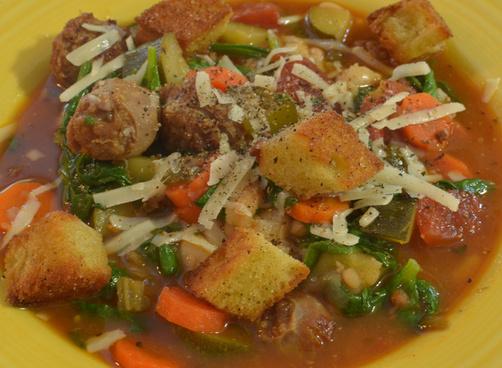 mmm italian sausage soup