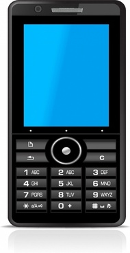 mobile phone clip art free vector download 218 293 free vector for