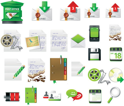 mobile phone icon vector vector