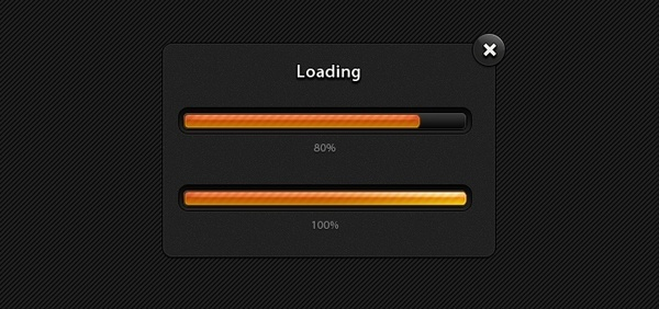 Modal Progress Bars