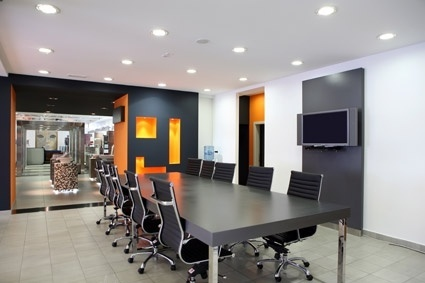 modern and stylish meeting room picture 1