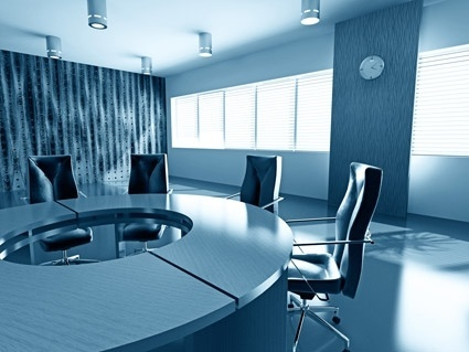 modern and stylish meeting room picture 2