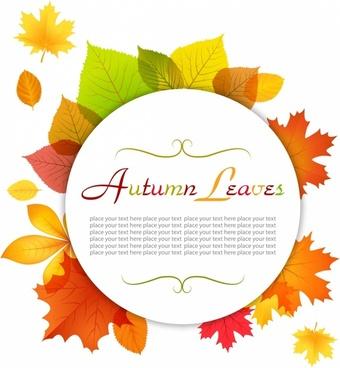 Modern Autumn Frame