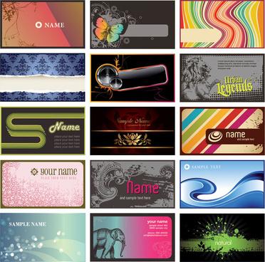 modern card background design vector