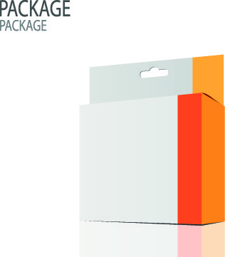 modern cardboard package boxes illustration vector