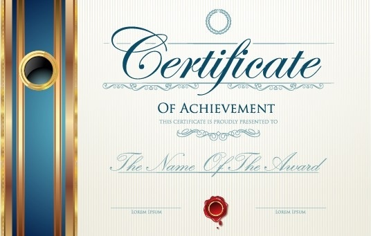 modern certificate design free vector download 8 960 free vector
