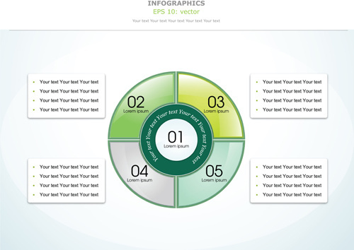 modern education infographics vector set